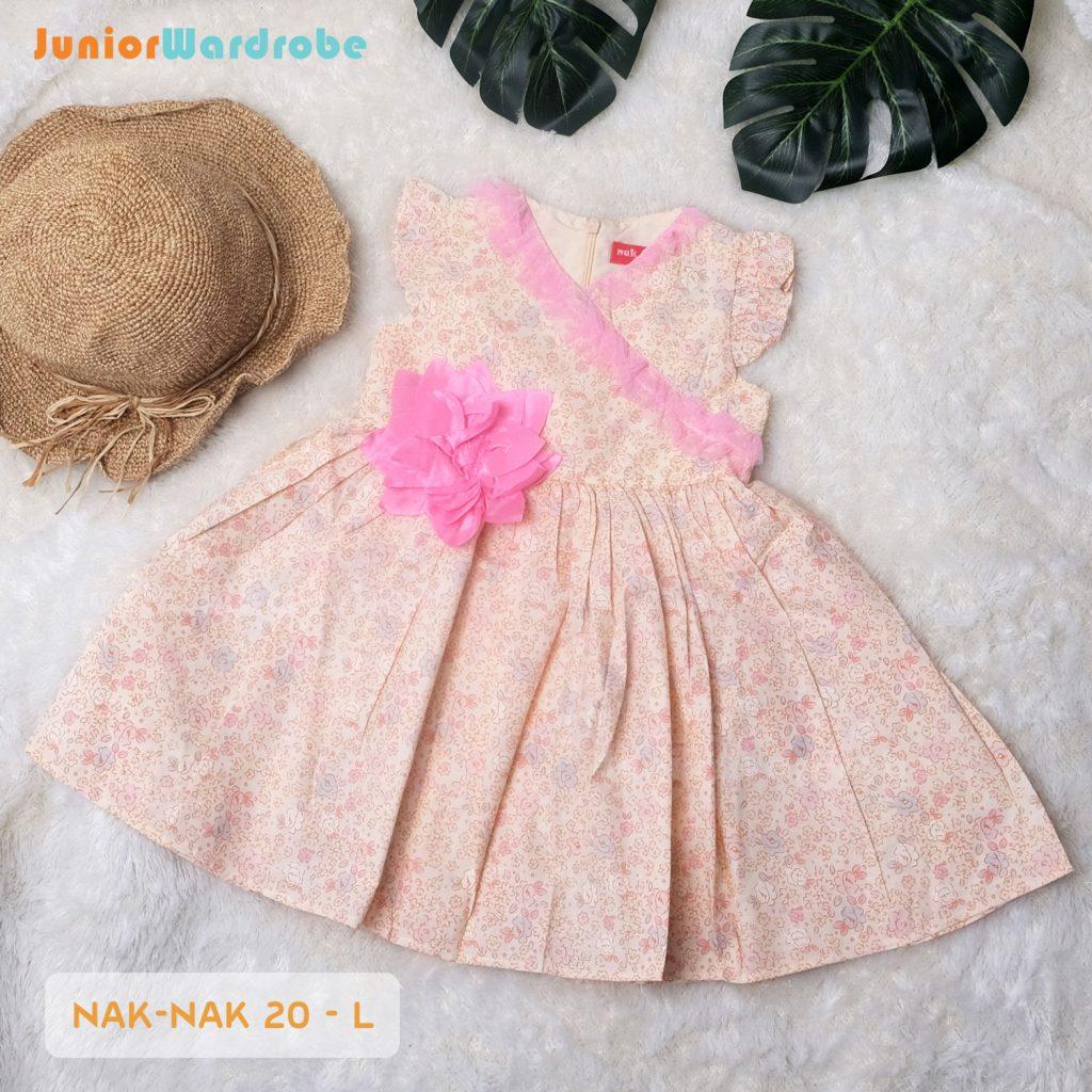 NAK 20 KIDS-L CHERRY BLOSOM DRESS
