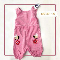 MC 27 BABY-A BEE CODORAY JUMPTSUIT & BORDIR