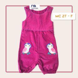 MC 27 BABY-F OWL CODORAY JUMPTSUIT & BORDIR