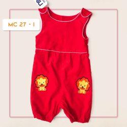 MC 27 BABY-J LION CODORAY JUMPTSUIT & BORDIR