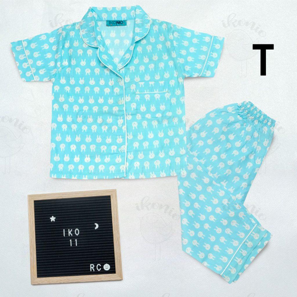 Pajamas Ikonio Printing Rabbit Kids Iko 11-T