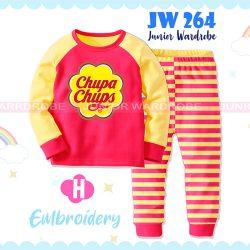 Pajamas Juniorwardrobe BTS Chupa Chups Pink Cotton+Printing Kids JW 264- H