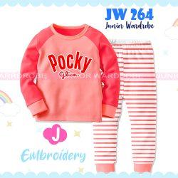 Pajamas Juniorwardrobe Pocky Pink Cotton+Printing Kids JW 264- J
